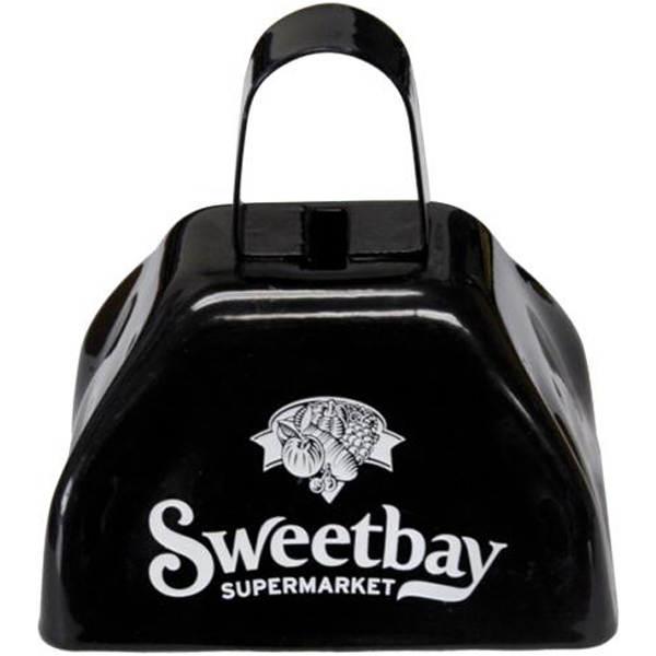 "Promotional 3"" metal cow bell"