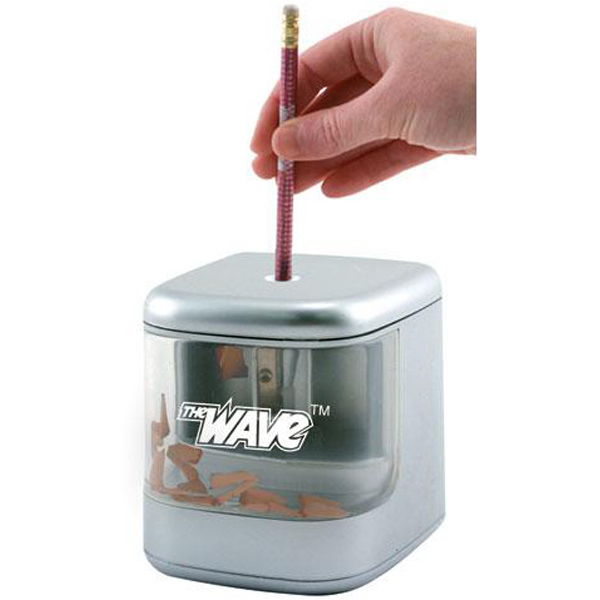 Imprinted USB pencil sharpener with flashing LEDs
