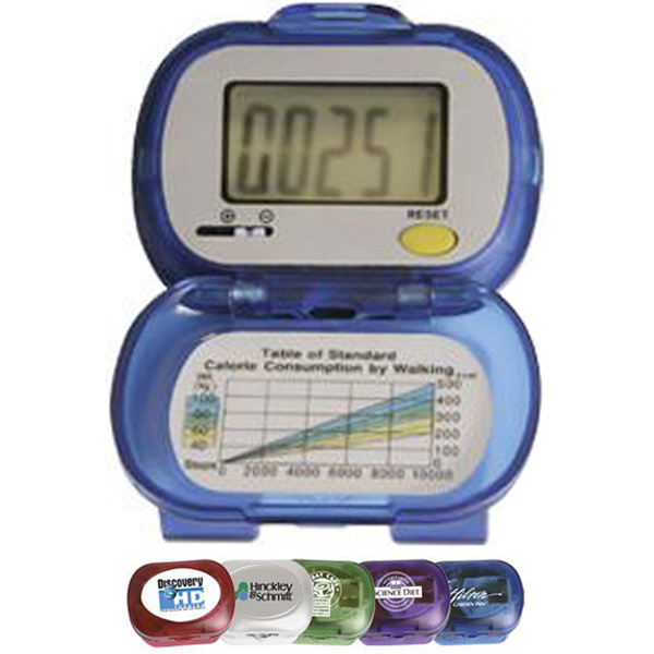 Printed Large digit single function digital pedometer