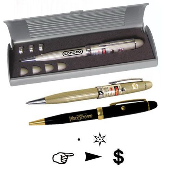 Personalized Executive laser pen with multiple lenses and gift box