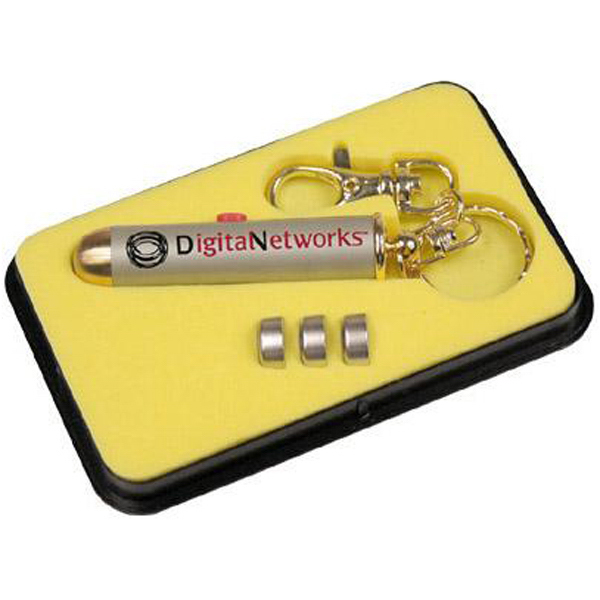 Promotional Laser light Key ring