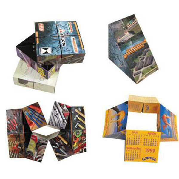 Imprinted Magic pyramid puzzle