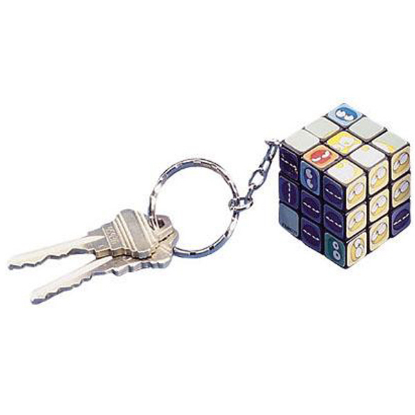 Promotional Mini twist cube keychain