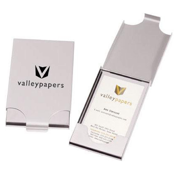 Personalized Vertical business card case