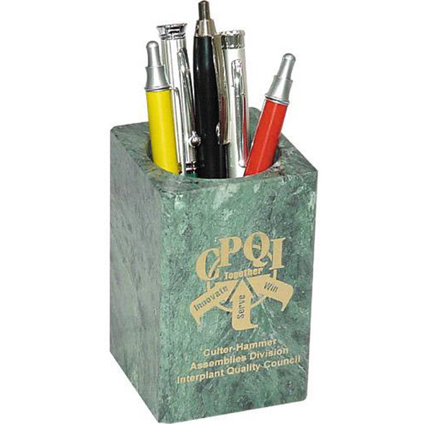 Printed Marble pencil holder