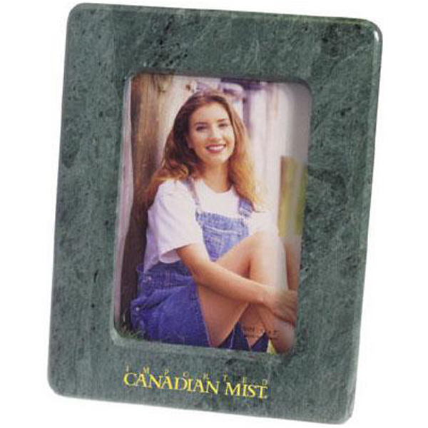 "Printed Marble 5"" x 7"" photo frame with easel back"