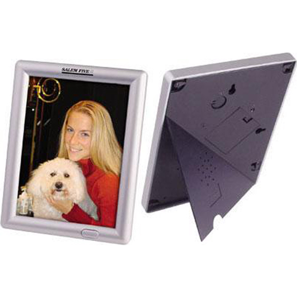 "Promotional Recording/talking 5"" x 7"" photo frame"