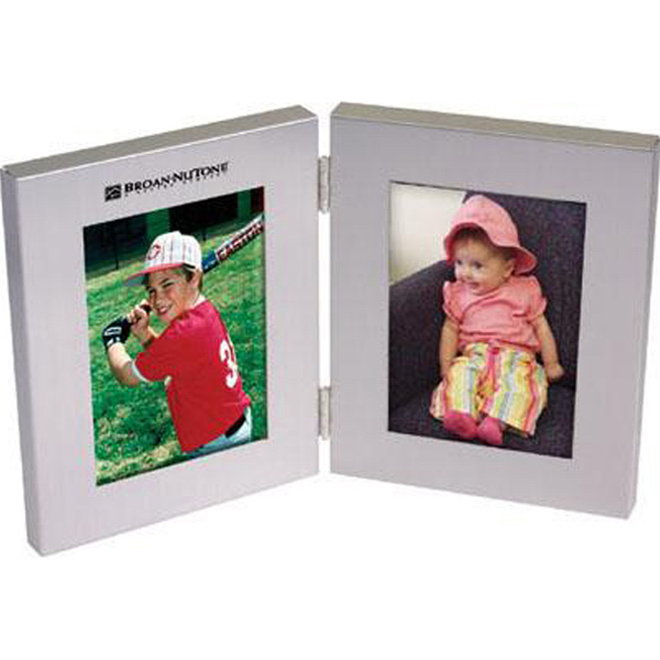 Promotional Aluminum bi-fold photo frame