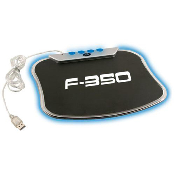 Customized LED mouse pad 4-port expansion hub