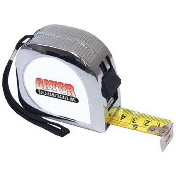 Printed 18' Tape measure with lock