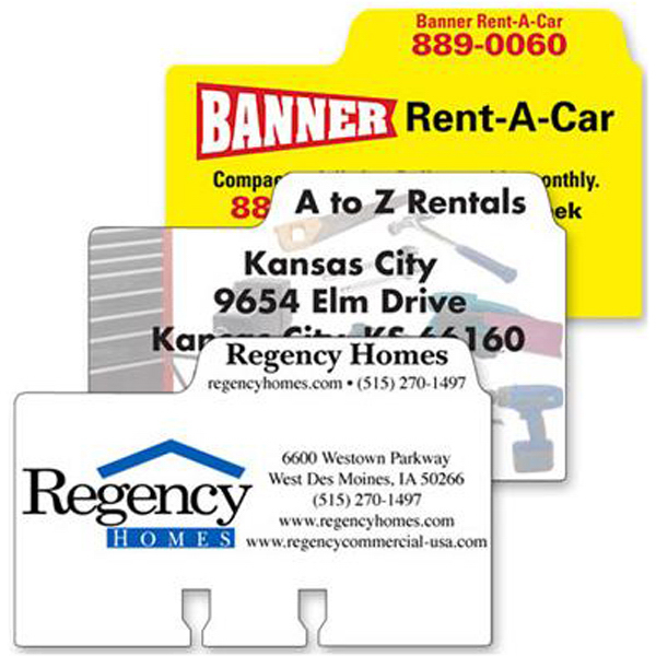 Promotional Paper rotary file cards