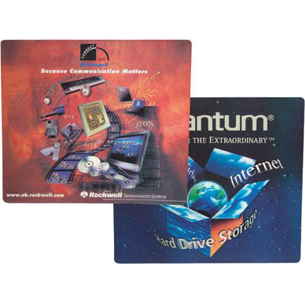 "Printed Lenticular 7"" x 8"" or 8"" round mouse pad"