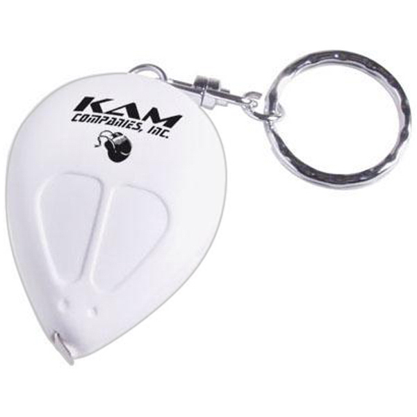 Customized Mouse shaped tape measure keychain