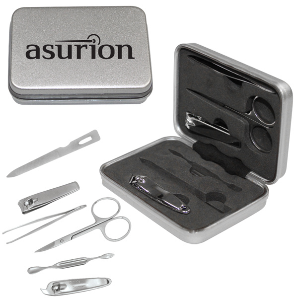 Imprinted 6-piece manicure set