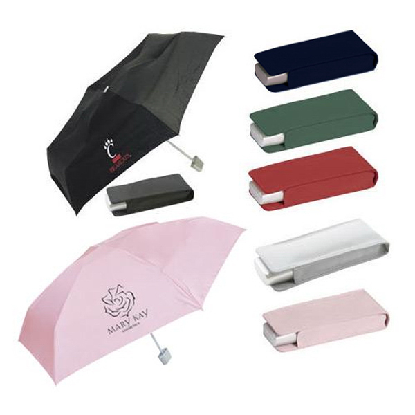 Customized Pocket umbrella with matching case