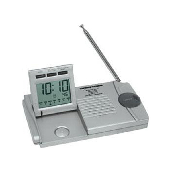 Personalized Slim traveler AM/FM radio/alarm clock/flashlight