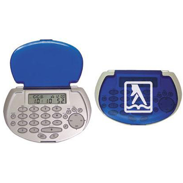 Personalized Pocket databank calculator with fold-over cover