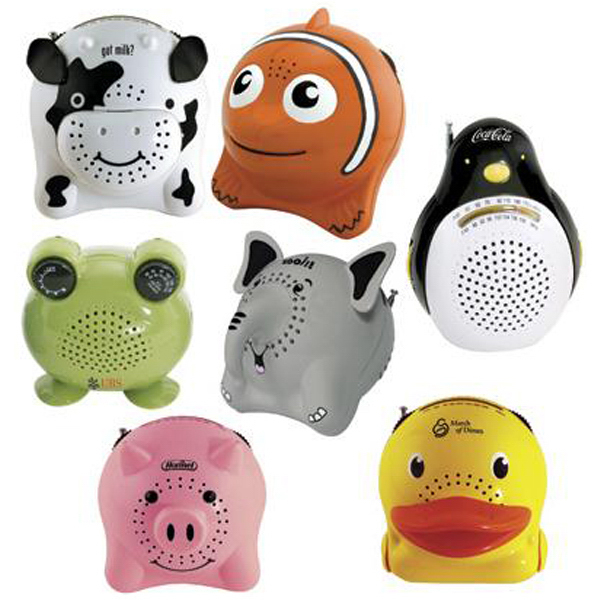 Promotional Animal Series AM/FM radio