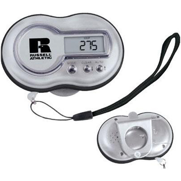 Custom Talking pedometer with panic safety alarm