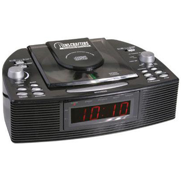 Personalized Stereo AM/FM CD alarm clock radio