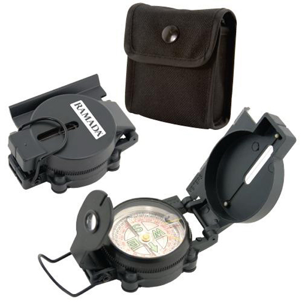 Promotional Military style lensatic compass