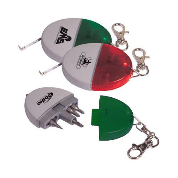 Promotional Pocket tool kit with 3 ft. tape measure