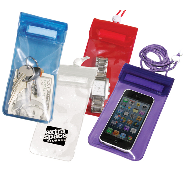 Customized Waterproof pouch for phone and valuables