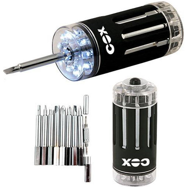 Customized 9-LED lite-driver multi-tool