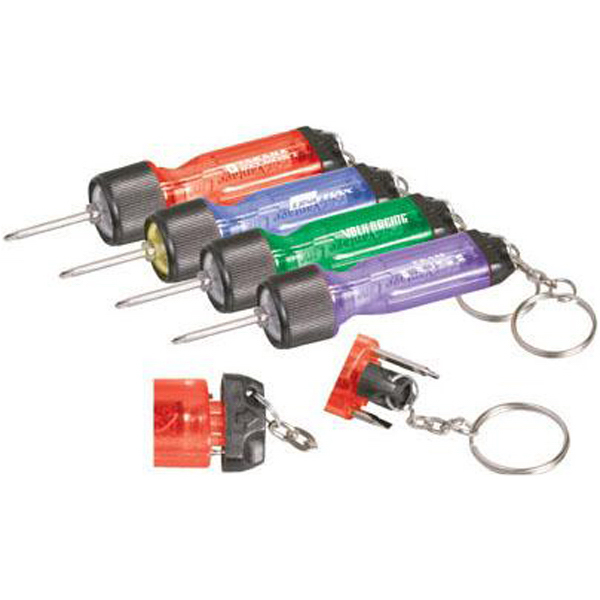 Personalized Mini light driver with keychain