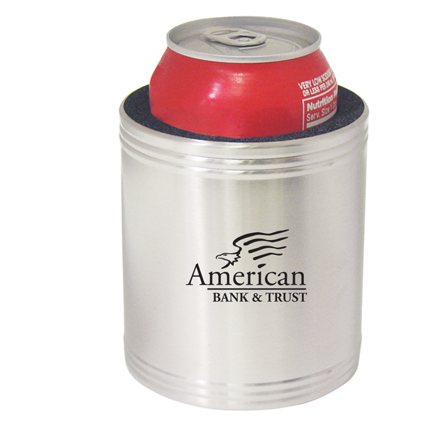 Personalized Stainless steel can holder