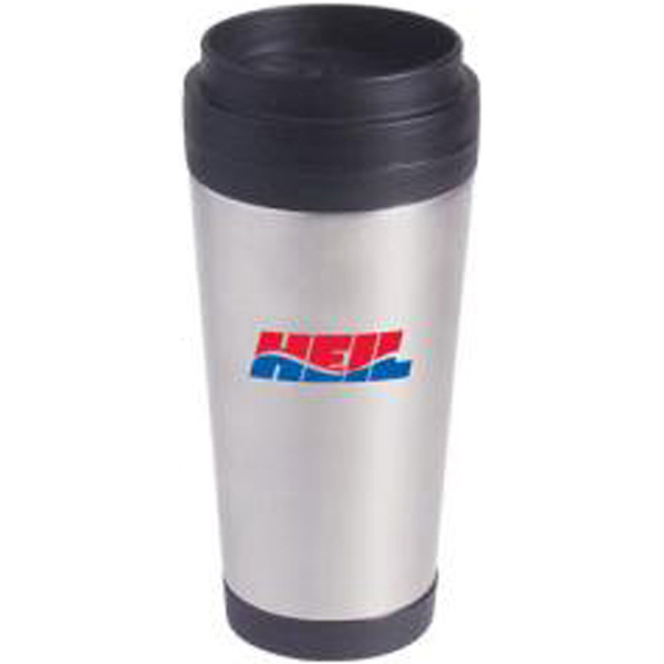 Printed 16 oz super saver stainless steel tumbler