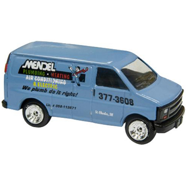 Personalized 1/64 scale Express van