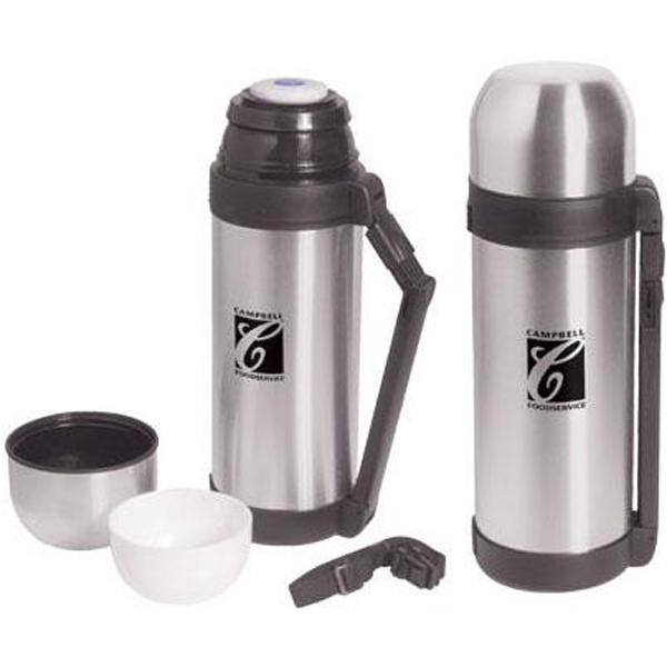 Personalized 51 oz (1.5 liter) stainless steel vacuum bottle