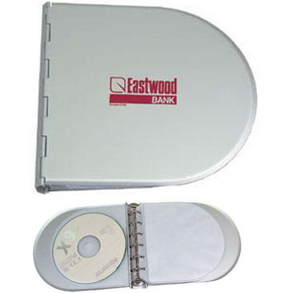 Promotional Aluminum CD/DVD holder