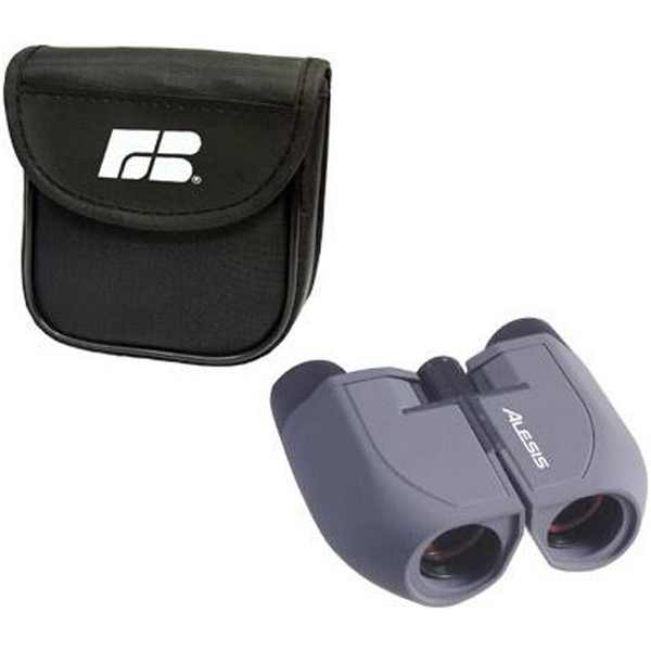 Custom 10x25 executive binoculars with nylon case