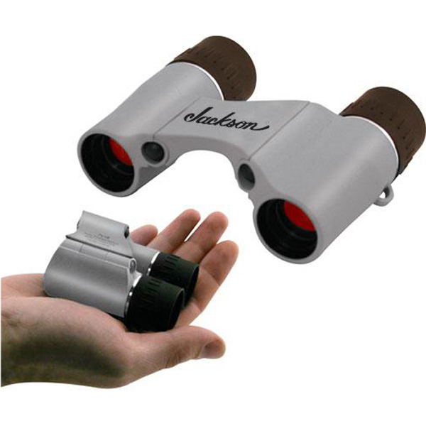 Personalized 7x18 pocket binoculars with nylon case