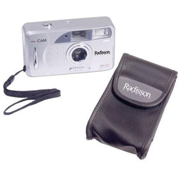 Custom Motorized 35mm camera package with film and case