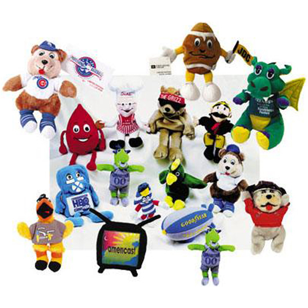 Personalized Custom plush and bean-filled characters