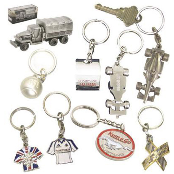 Custom Die-cast key chains