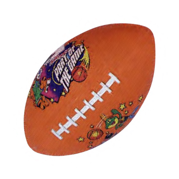 Imprinted Rubber football