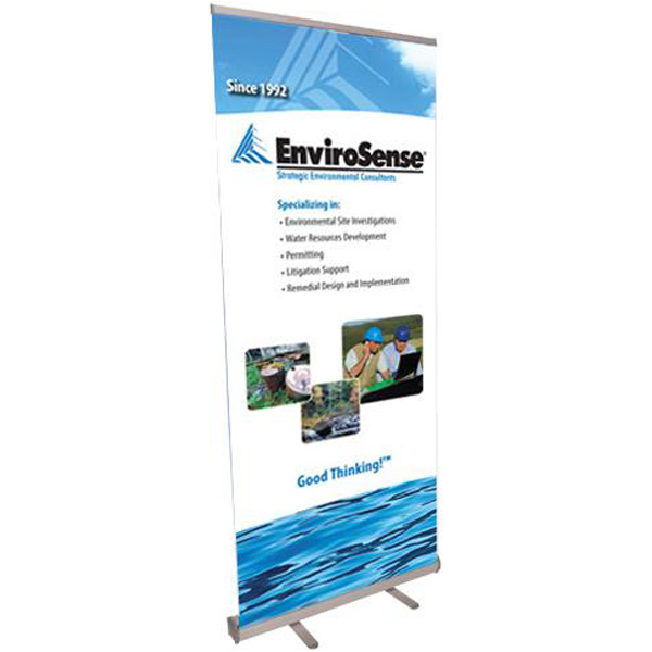 Custom Banner with retractable stand
