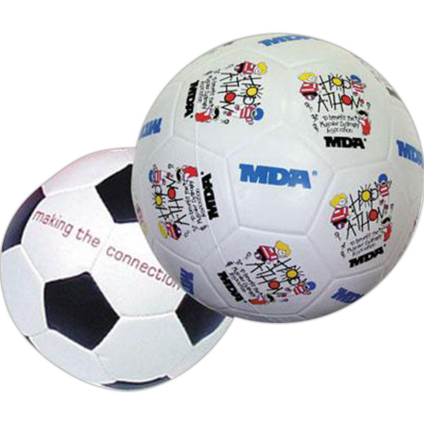 Imprinted Rubber soccer ball
