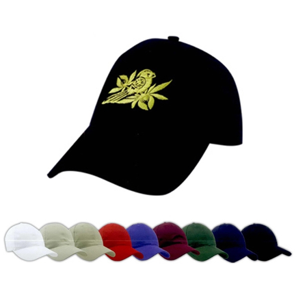 Customized Brushed Cotton Twill Cap