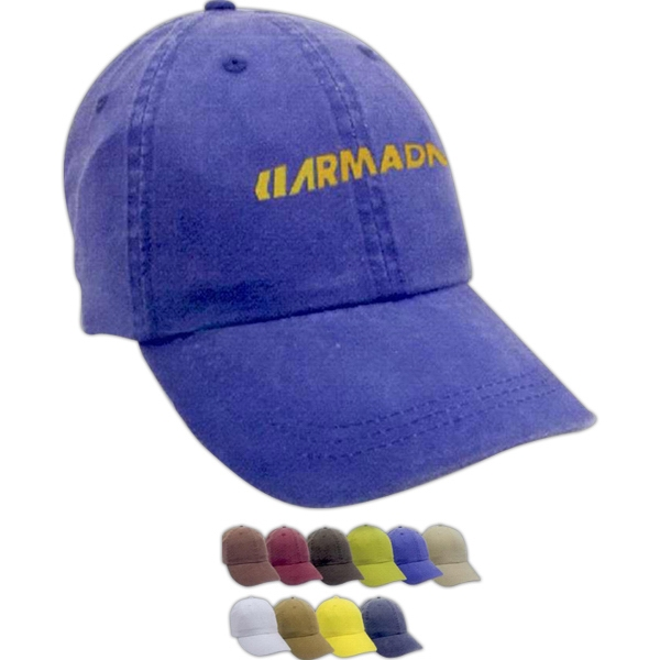 Promotional Pigment Dye washed Cap
