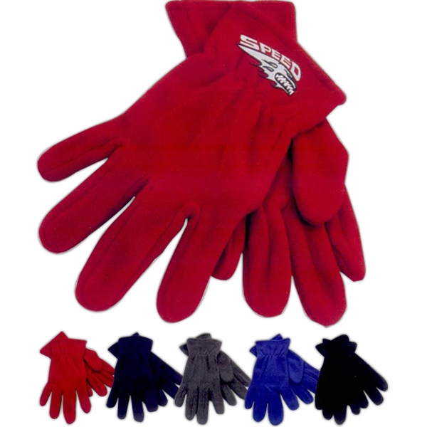 Imprinted Fleece Gloves