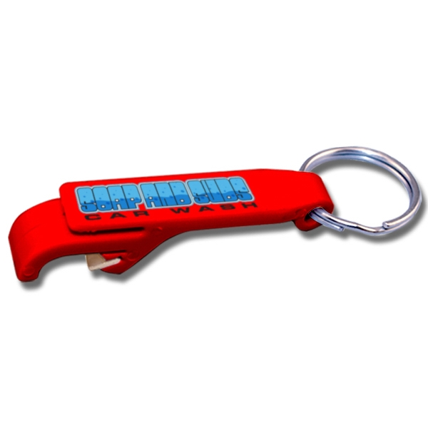 Printed Bottle Opener Key tag