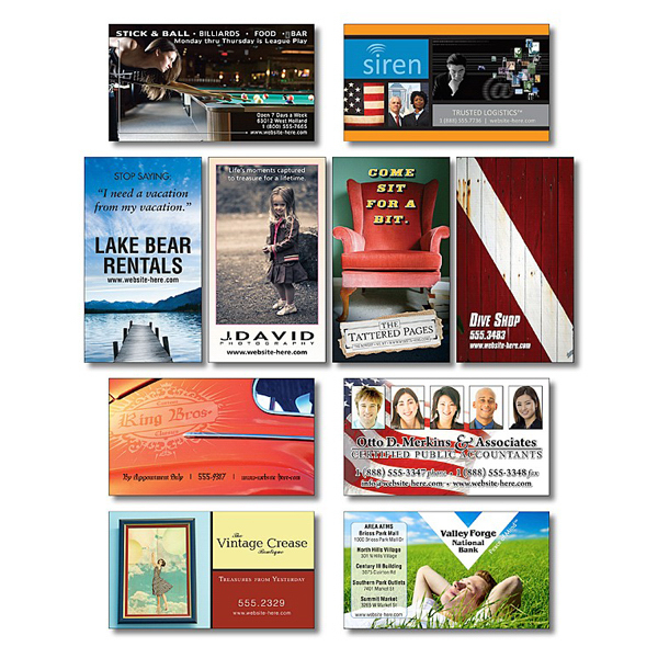 Promotional Business Card Magnet - 3.5x2 (Square Corners) - 20 Mil