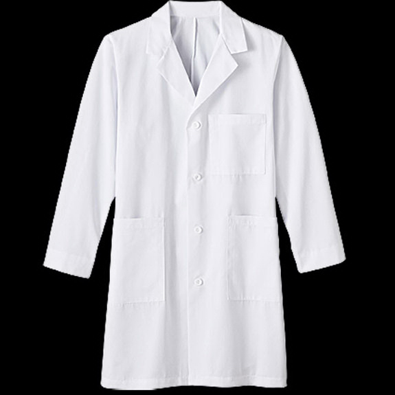 "Printed Meta Mens 38"" Labcoat"
