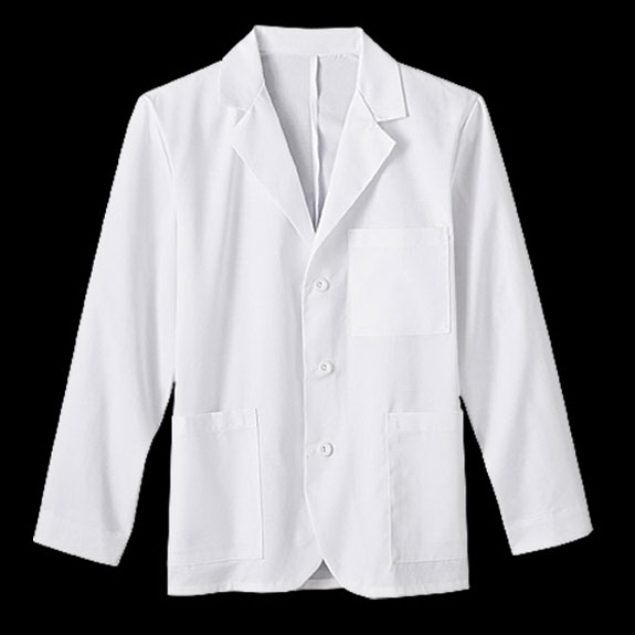 "Printed Meta Mens 30"" Consultation Labcoat"
