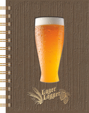 Printed LagerLogger (TM) Deluxe Journal
